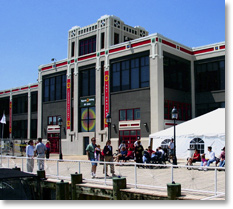 Outside view of the Torpedo Factory